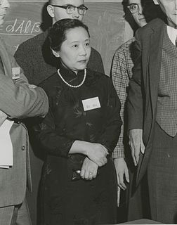 Chien-Shiung Wu Chinese American experimental physicist