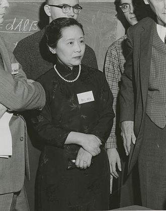Chien-Shiung Wu - Chien-Shiung Wu in 1958 at Columbia University