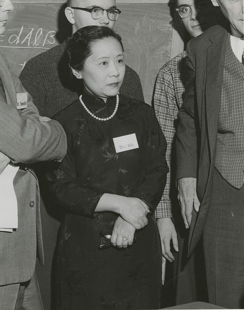 Chien-Shiung Wu (1912-1997) in 1958.jpg