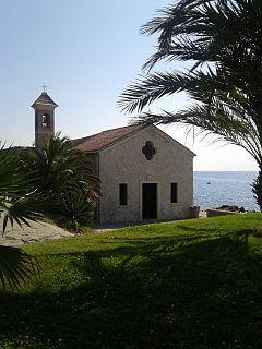St. Ampelio Church (Bordighera) Church in Bordighera, Italiy