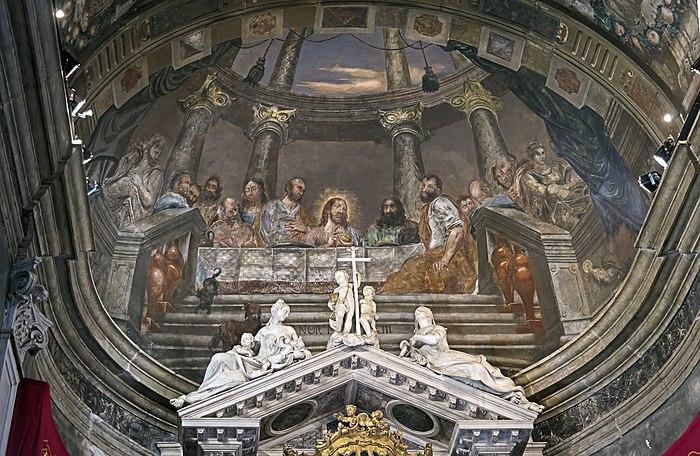 Chiesa di Ognissanti - Venezia - Affresco della volta del coro