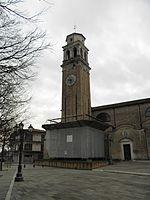 Chiesa di San Michele Arcangelo, campanile (Sant'Angelo di Piove di Sacco).jpg