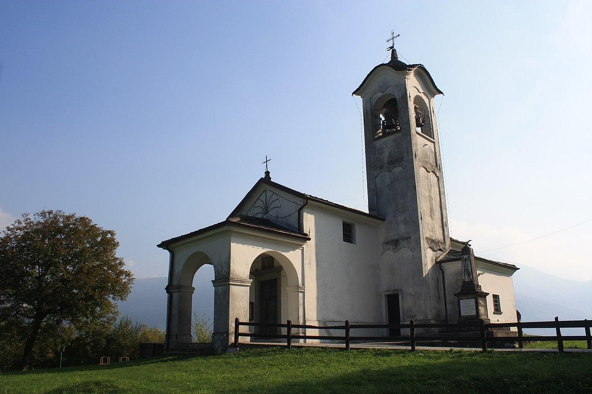 Chiesa di sant 39 antonio abate parlasco wikipedia for Arredo bimbo sant antonio abate