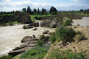 Chemtou - Ruins of the Roman Bridge.