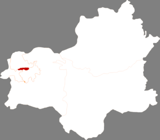 Xinfu District, Fushun District in Liaoning, Peoples Republic of China