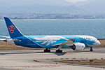 China Southern Airlines ,CZ390 ,Boeing 787-81B ,B-2727 ,Departed to Guangzhou ,Kansai Airport (16800990282).jpg