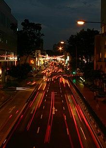 Chinatown, Singapore, at night - 20050204.jpg