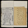 Chinese diagram of human body, handwritten letter in English Wellcome L0075720.jpg