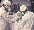 Chinese physicians performing an operation, Changde, Hunan, China, ca.1900-1919 (IMP-YDS-RG008-358-0008-0070).jpg