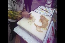 ファイル:Chinese sugar painting - 01.ogv