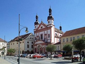 Chomutov - Church of Saint Ignatius