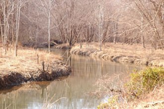 Chopawamsic Creek - Image: Chopawamsic Creek