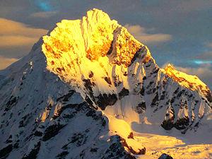 Cordillera Blanca - Chopicalqui (6354 m)