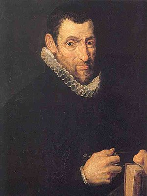 Christophe Plantin - Posthumous painting by Rubens