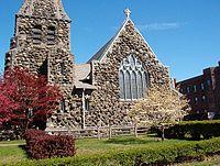 Christ Church Waltham Mass Western Facade.JPG