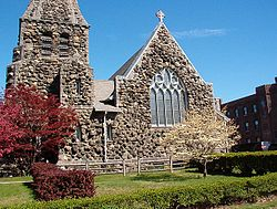 Christ Church Waltham Mass Western Facade.JPG