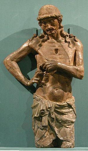 Dello di Niccolò Delli - Christ, wooden sculpture by Dello di Niccolò Delli, 15th century