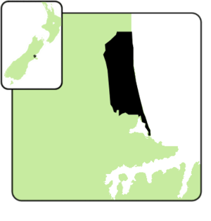 Christchurch East - Christchurch East electorate boundaries for the 2008 and 2011 elections