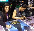 Christi Perovski and James Polony signing Aladdin 3477 Movie Posters.jpg