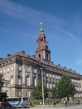 Politics of Denmark - Christiansborg Palace is home to the executive, judicial and legislative branches of the Danish government.