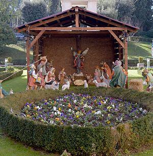 Christmas crib in the Hospital San Pietro Fatebenefratelli.jpg