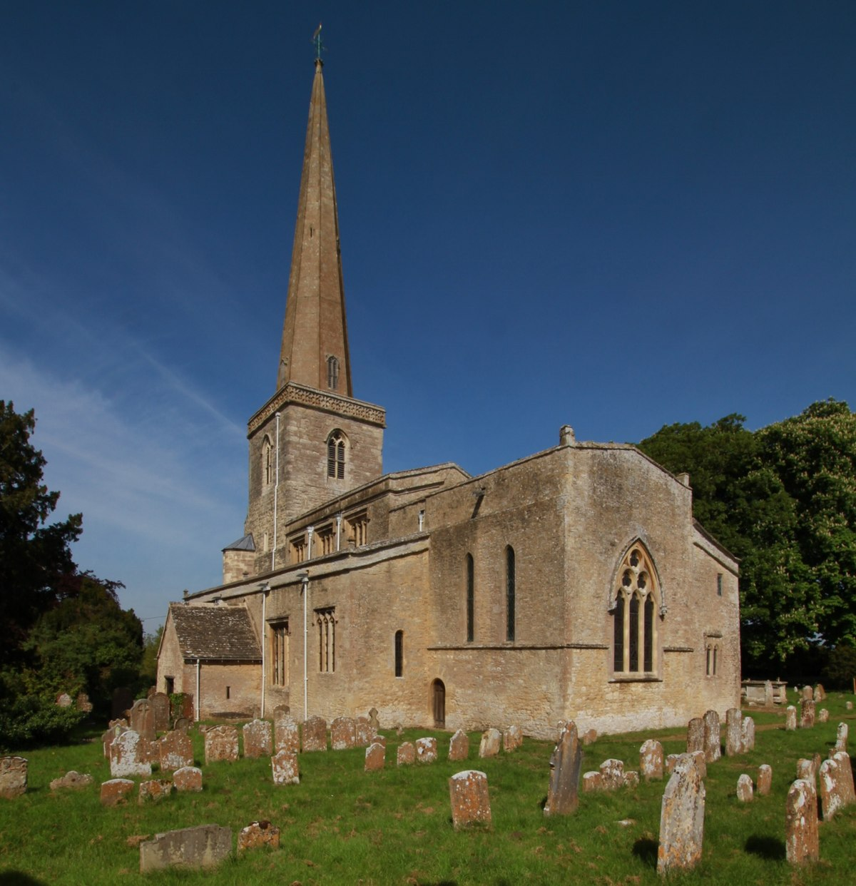 wikipedia church hanborough se