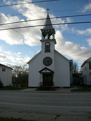 Alburgh (town), Vermont - Church in Alburgh