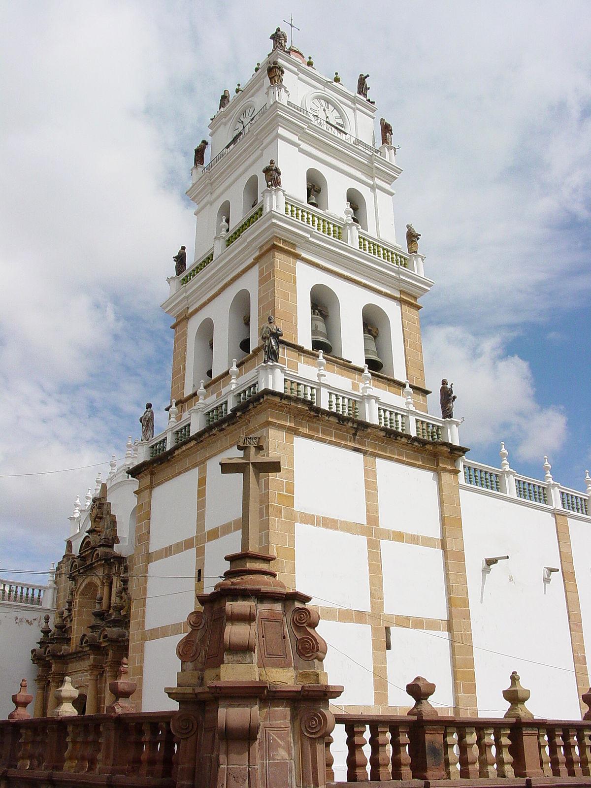 Catedral basílica de Nuestra Señora de Guadalupe (Sucre) - Wikipedia ...