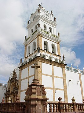 Church in Historic Center - Sucre - Bolivia.jpg