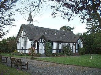 Little Stretton, Shropshire - Image: Church in Little Stretton,Shropshire geograph.org.uk 79204