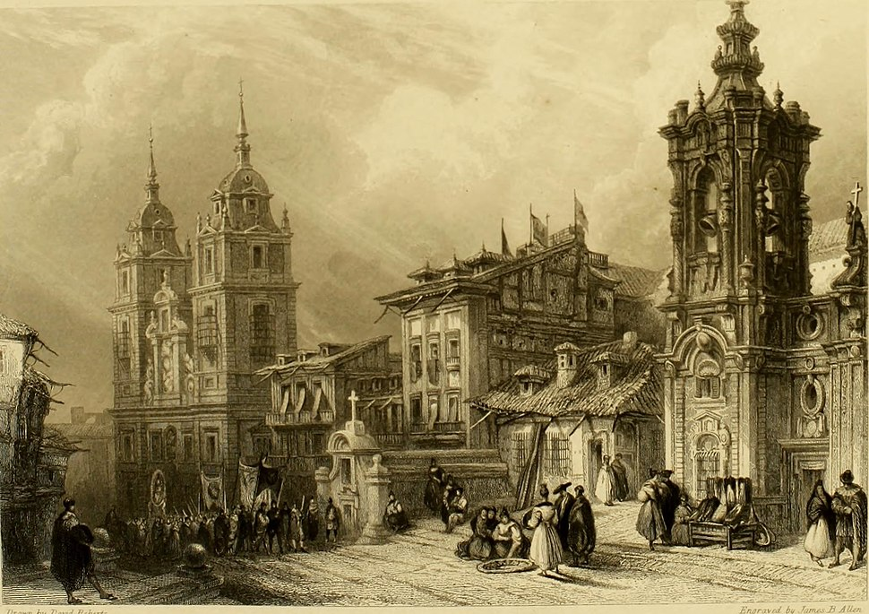 Church of Nuestra Señora de Montserrat, Madrid, 1838