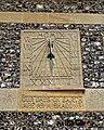 Church of St Andrew's, Boreham, Essex - sundial on south aisle wall.jpg