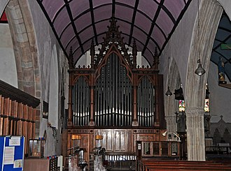 St Michael and All Angels, Great Torrington - The Wills Organ