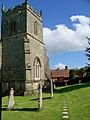 Churchyard, St Peter ad Vincula, Tollard Royal - geograph.org.uk - 855984.jpg