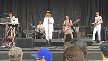 Cibo Matto and friends at Solid Sound Festival (North Adams MA), 27 June 2015.jpg