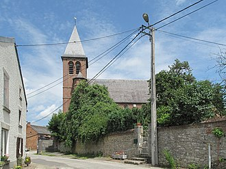 Houyet - Image: Ciergnon, kerk foto 1 2012 06 30 12.34