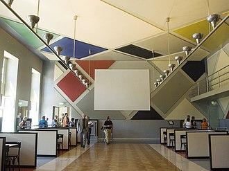 Aubette (building) - The restored dance hall in 2006.