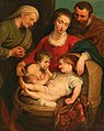 Circle of Peter Paul Rubens - The Holy Family with Saint Elizabeth and the Infant Saint John.jpg