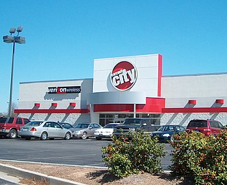 Circuit City - Initial Horizon format in Rome, Georgia, used in 2000