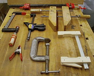 Clamp (tool) - Image: Clamps