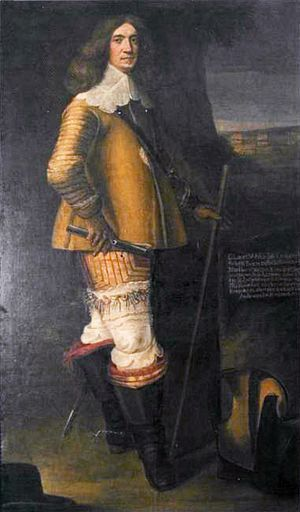 Claus von Ahlefeldt - Image: Claus Ahlefeldt (1614 1674), by Abraham Wuchters