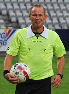 Claus Bo Larsen Danish football referee