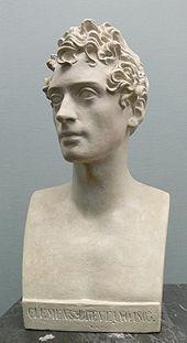 Clemens Brentano, Büste von Christian Friedrich Tieck, 1803 (Quelle: Wikimedia)