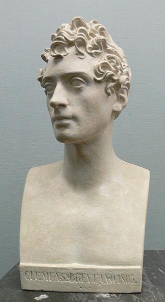 Christian Friedrich Tieck - C. F. Tieck: Clemens Brentano, 1803