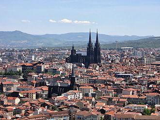 Puy-de-Dôme - Image: Clermont vu de Montjuzet