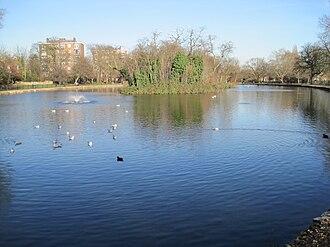 Clissold Park - Clissold Park's Lake