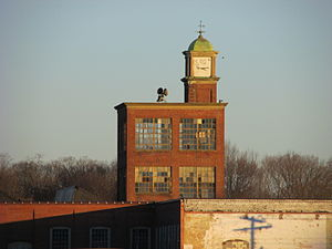 Clock Tower, Mount Hope Finishing Company, North Dighton MA.jpg