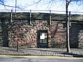 Closed gate in the city walls - geograph.org.uk - 673367.jpg