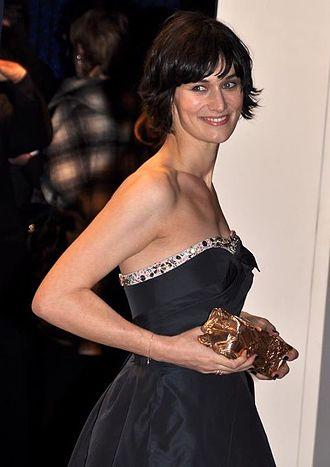 Clotilde Hesme - Hesme at the 2012 César Awards ceremony