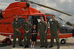 Coast Guard Air Station Traverse City crew reunites with rescued boy from Illinois 140729-G-PL299-122.jpg